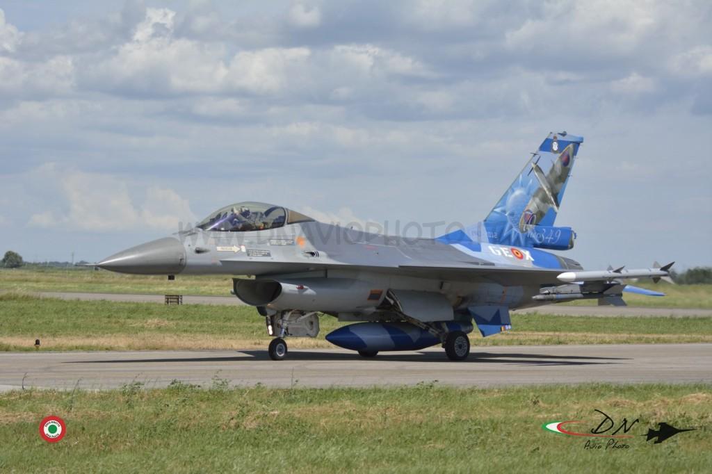 F-16 BAF Special Color 349 SQN (Smaldeel )  Cervia Ab