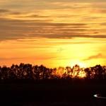 Sunset at Grosseto Winter Hide 2013